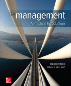 Test Bank for Management 9th Edition Kinicki
