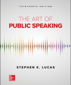 Test Bank for The Art of Public Speaking 13th Edition Lucas