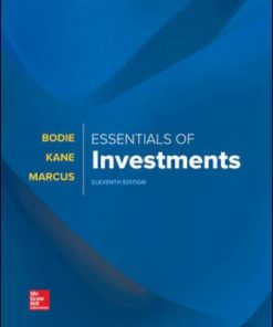 Test Bank for Essentials of Investments 11th Edition Bodie