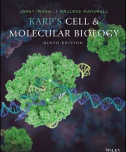 Test Bank for Karp's Cell and Molecular Biology 9th Edition Karp