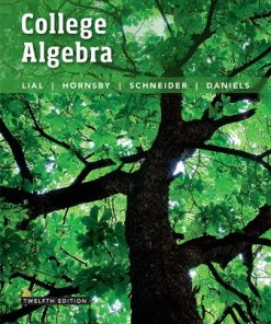 Solution Manual for College Algebra 12th Edition Lial