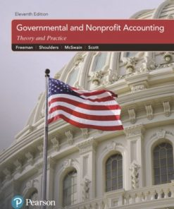 Test Bank for Governmental and Nonprofit Accounting 11th Edition Freeman Test Bank for Governmental and Nonprofit Accounting, 11th Edition, Robert J. Freeman, Craig D. Shoulders, Dwayne N. McSwain, Robert B. Scott, ISBN-10: 0133799565, ISBN-13: 9780133799569 Table of Contents 1. Governmental and Nonprofit Accounting: Environment and Characteristics 2. State and Local Government Accounting and Financial Reporting Model: The Foundation 3. Budgeting, Budgetary Accounting, and Budgetary Reporting 4. The General Fund and Special Revenue Funds 5. Revenue Accounting – Governmental Funds 6. Expenditure Accounting – Governmental Funds 7. Capital Projects Funds 8. Debt Service Funds 9. General Capital Assets; General Long-Term Liabilities; Permanent Funds: Introduction to Interfund-GCA-GLTL Accounting 10. Enterprise Funds 11. Internal Service Funds 12. Trust and Agency (Fiduciary) Funds: Summary of Interfund-GCA-GLTL Accounting 13. Financial Reporting: The Basic Financial Statements and Required Supplementary Information 14. Financial Reporting: Deriving Government-Wide Financial Statements and Required Reconciliations 15. Financial Reporting: The Comprehensive Annual Financial Report and the Financial Reporting Entity 16. Non-SLG Not-for-Profit Organizations 17. Accounting for Colleges and Universities 18. Accounting for Health Care Organizations 19. Federal Government Accounting 20. Auditing Governments and Not-for-Profit Organizations