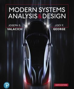 Test Bank for Modern Systems Analysis and Design 9th Edition Valacich