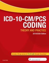 Test Bank for ICD-10-CM/PCS Coding: Theory and Practice 2019/2020 Edition Elsevier