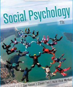 Test Bank for Social Psychology 11th Edition Kassin