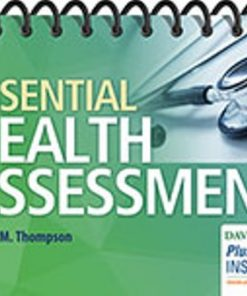 Test Bank for Essential Health Assessment 1st Edition Thompson