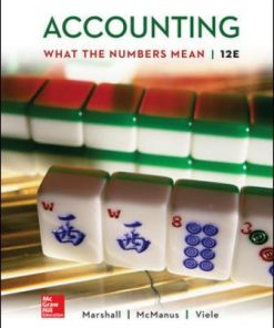 Test Bank for Accounting: What the Numbers Mean 12th Edition Marshall
