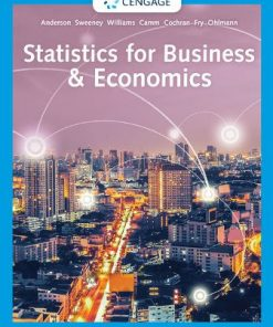 Test Bank for Statistics for Business and Economics 14th Edition Anderson