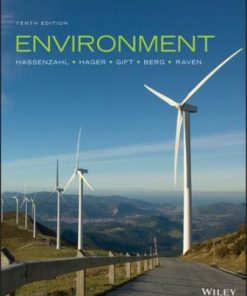 Solution Manual for Environment 10th Edition Hassenzahl