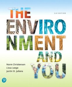 Test Bank for The Environment and You 3rd Edition Christensen