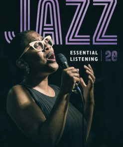 Test Bank for Jazz: Essential Listening 2nd Edition by DeVeaux
