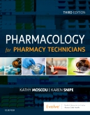 Test Bank for Pharmacology for Pharmacy Technicians 3rd Edition Moscou