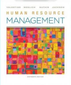 Test Bank for Human Resource Management 16th Edition Valentine