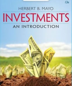 Solution Manual for Investments: An Introduction 13th Edition Mayo
