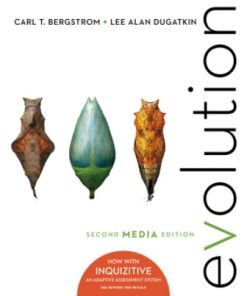 Test Bank for Evolution 2nd edition media update by Bergstrom
