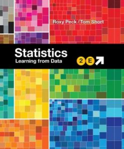 Test Bank for Statistics: Learning from Data 2nd Edition Peck