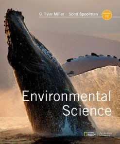 Test Bank for Environmental Science 16th Edition Miller