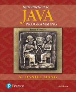 Solution Manual for Introduction to Java Programming Brief Version 11th Edition Liang