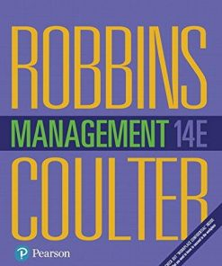 Test Bank for Management 14th Edition Robbins