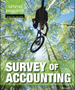 Test Bank for Survey of Accounting 1st Edition Kimmel