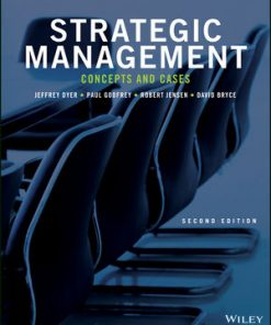 Test Bank for Strategic Management Concepts and Cases 2nd Edition Dyer