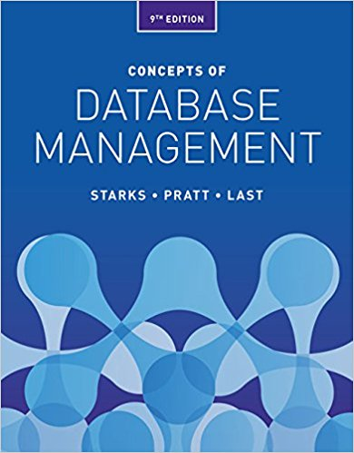 Test Bank for Concepts of Database Management 9th Edition Starks