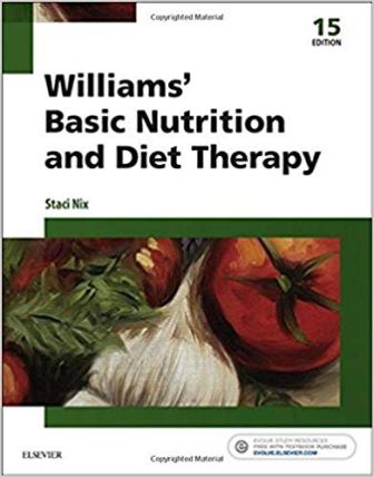 Test Bank for Williams' Basic Nutrition and Diet Therapy 15th Edition Nix