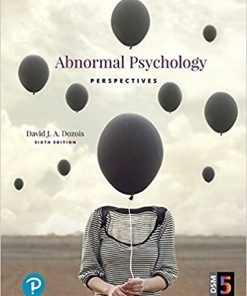 Test Bank for Abnormal Psychology Perspectives 6th Edition by Dozois