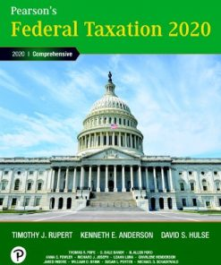 Solution Manual for Pearson's Federal Taxation 2020 Corporations, Partnerships, Estates and Trusts 33rd Edition Rupert