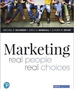Solution Manual for Marketing: Real People, Real Choices 10th Edition Solomon
