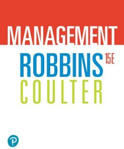 Solution Manual for Management 15th Edition Robbins