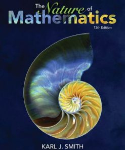 Solution Manual for Nature of Mathematics 13th Edition Smith
