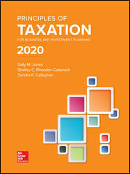 Test Bank for Principles of Taxation for Business and Investment Planning 2020 Edition 23rd Edition Jones