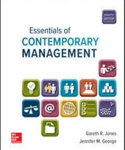 Solution Manual for Essentials of Contemporary Management 8th Edition Jones