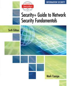 Test Bank for CompTIA Security+ Guide to Network Security Fundamentals 6th Edition Ciampa