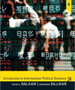 Test Bank for Introduction to International Political Economy 5/E Balaam