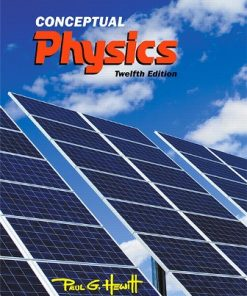 Test Bank for Conceptual Physics 12th Edition Hewitt