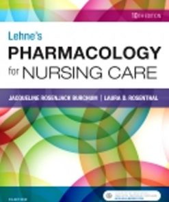 Test Bank for Lehne's Pharmacology for Nursing Care 10th Edition Burchum