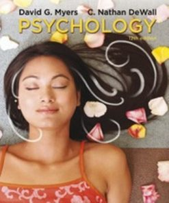 Test Bank for Psychology 12th Edition David G. Myers