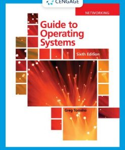 Solution Manual for Guide to Operating Systems 6th Edition Tomsho