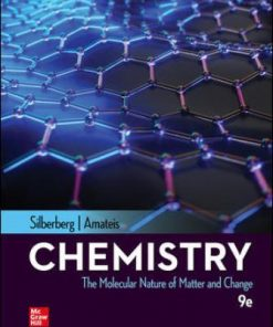 Solution Manual for Chemistry: The Molecular Nature of Matter and Change 9th Edition Silberberg