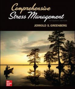 Solution Manual for Comprehensive Stress Management 15th Edition Greenberg