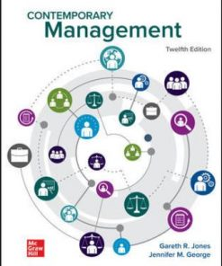 Solution Manual for Contemporary Management 12th Edition Jones