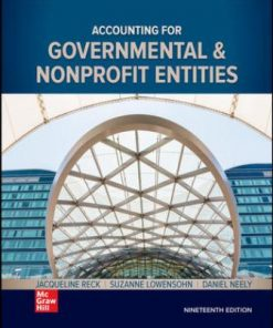 Test Bank for Accounting for Governmental & Nonprofit Entities 19th Edition Reck