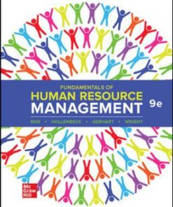 Test Bank for Fundamentals of Human Resource Management 9th Edition Noe