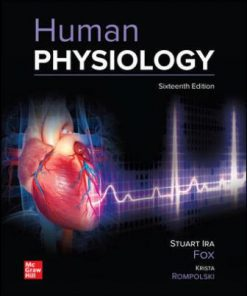 Solution Manual for Human Physiology 16th Edition Fox