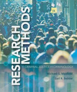 Test Bank for Research Methods for Criminal Justice and Criminology 8th Edition Maxfield