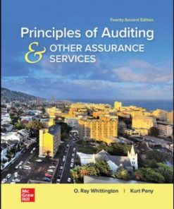 Test Bank for Principles of Auditing & Other Assurance Services 22nd Edition Whittington