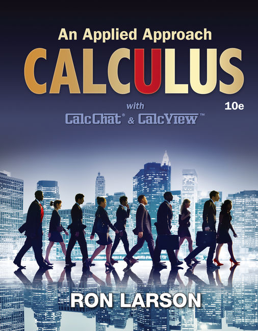 Solution Manual for Calculus: An Applied Approach 10th Edition Larson