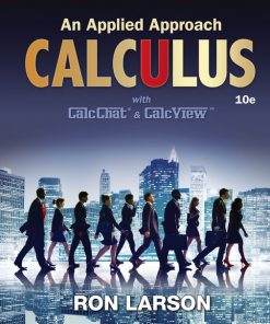 Test Bank for Calculus: An Applied Approach 10th Edition Larson